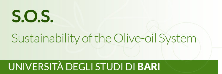 Progetto AGER - OLIVO E OLIO - Sustainability of the Olive-oil System – S.O.S. - Università degli Studi di Bari