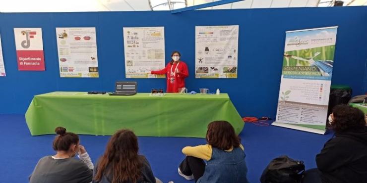 La divulgazione di VIOLIN al Festival della Scienza di Genova 2020